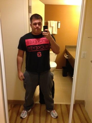Pink Ohio State Shirt